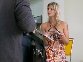 Amazing Blonde  Wife