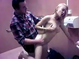 Amateur Doggystyle Hardcore Public Teen Toilet