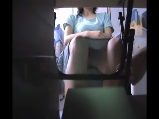 Chinese Asian Teacher Upskirt Voyeur 2