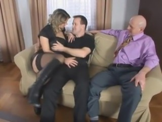 Cuckold  Stockings Wife