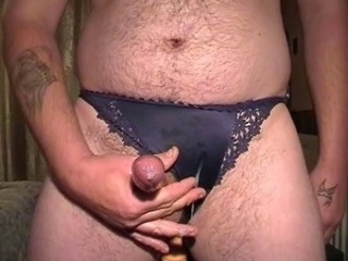 cumming  stolen panties bra plus vibrator