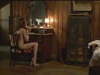 Evan Rachel Wood reveals her cute  ass coupled with perky tits inside dark