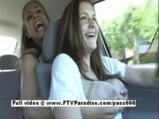 Innocent girl Tara, girl public masturbating in the wheels free