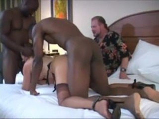 Blowjob Cuckold Hardcore Interracial Mature Stockings Threesome Wife