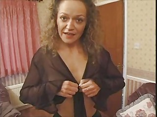 British European Mature Stripper