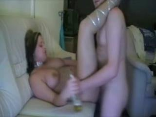 Drunken Chick Gets Ass Fucked