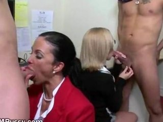 Sexy Office Bitches Getting Fucked