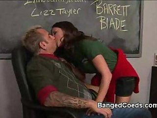 Titty coed fucked in school