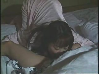 Asian Clothed Japanese Lesbian Licking Sleeping