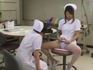 Asian Japanese Lesbian Nurse Pantyhose Teen Uniform