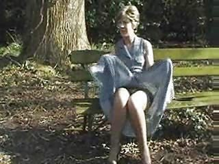 Amateur Mature Outdoor Stockings