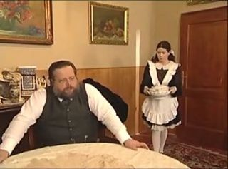 Daddy Maid Old and Young Spanking Teen Vintage