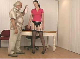 Daddy Old and Young Stockings Teen