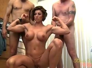 Mistress Amazon Gets Worshipped _: big boobs brunettes handjobs