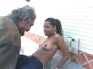 Ebony Interracial Old and Young Small Tits Teen