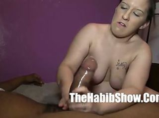 Amateur  Handjob Interracial Pov  Wife