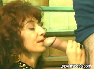 Kinky MILF fucked in all her holes