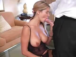 Gorgeous Blonde Mom Craves Co...
