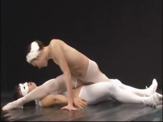 Ballerina From Asia Fucked On...