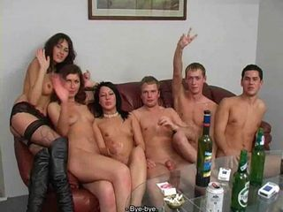 Russian Students Sex Party...