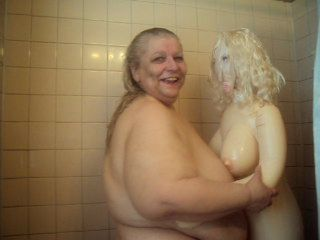 HAVING FUN IN THE SHOWER WITH...