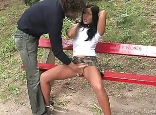 Bondage Fetish Outdoor Teen