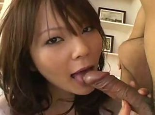 Pretty Busty Japanese MILF's Hot Hairy Cunt Creampied