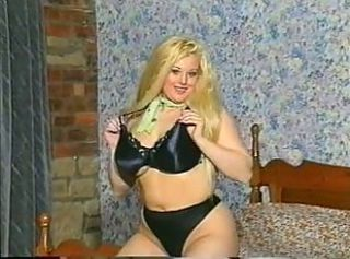 Big Tits Blonde British Chubby European Lingerie  Solo