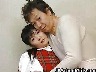 Asian Japanese Old and Young Teen
