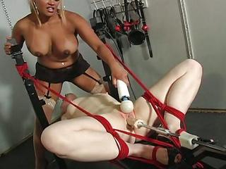 Machine Fucking And Cunt Licking With Maxine X