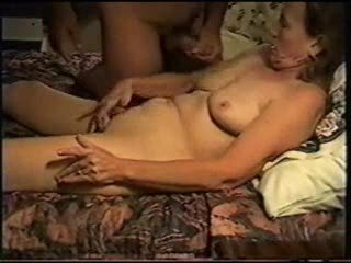 Amateur Homemade Masturbating Mature Older Wife