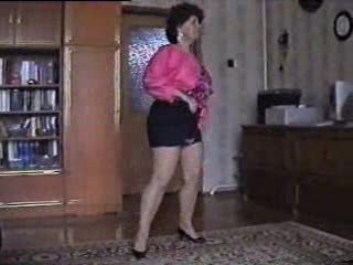 Amateur Homemade Mature Stripper Wife