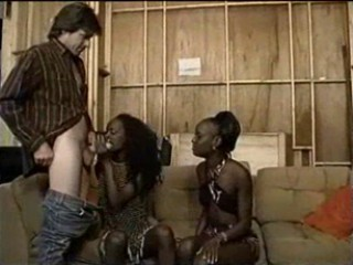 Ebony  Threesome Vintage