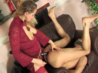 Mix be worthwhile for Femdom clips at the end of one's tether Strapon...