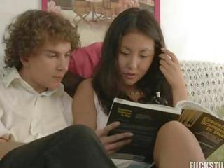 Asian Cute Interracial Teen