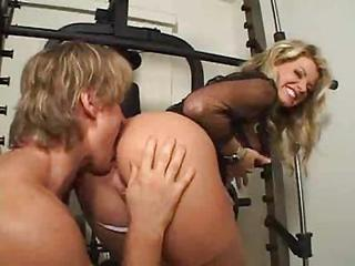 Ass Blonde Licking
