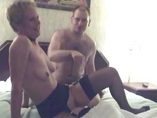 Swinger Mature Bent Over Together with Fucked From...