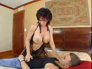 Milf On Her Hands And Knees With Big Tit...