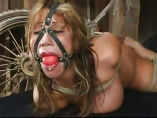 Busty Asian Girl Is Confined Up And Gagged I...