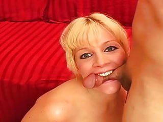 Blonde Extreme Mature Pain