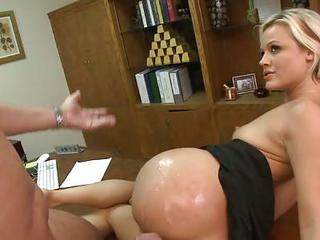 Jasmine Jolie Warms Up A Cock With Her P...