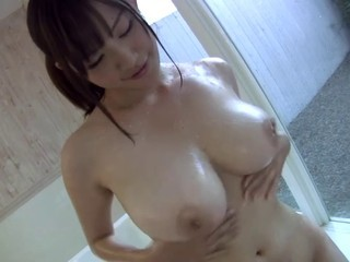 Busty Girl in Shower
