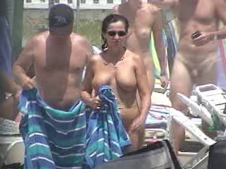 Beach Chubby Mature Nudist