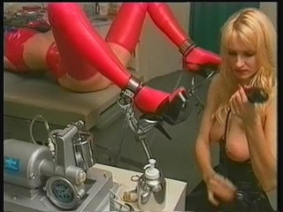 Bdsm Blonde Latex