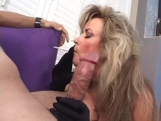 Blowjob Mature Smoking