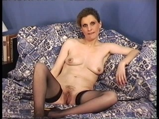 Homemade Mature Stockings