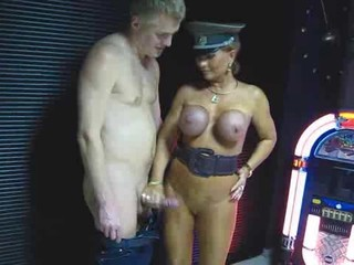 Big Tits Handjob  Outdoor Silicone Tits Uniform