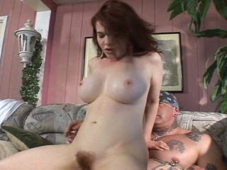 Hairy redhead hammered hard