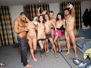 Orgy Party Stockings Student