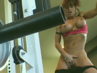 Masturbating  Muscled Sport
